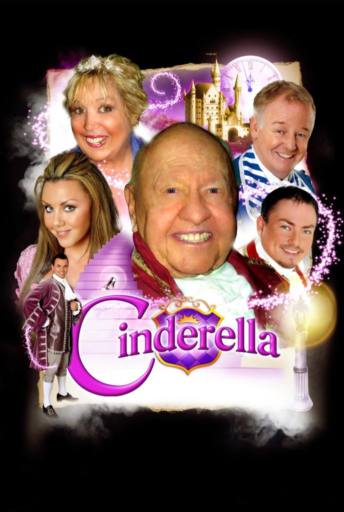 Jan and Mickey Rooney starring in Cinderella , England.